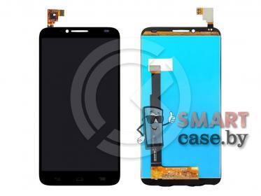 Дисплей для Alcatel OT 6037Y/6037K Idol 2 + тачскрин (черный)