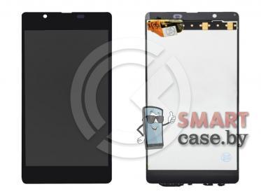 Дисплей для Microsoft 540 Lumia (RM1141) + тачскрин (черный)