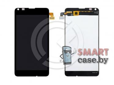 Дисплей для Microsoft 640 Lumia (RM1072/RM1075/RM1077) + тачскрин (черный)