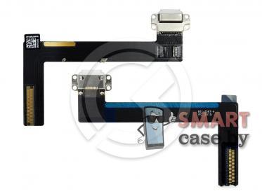 Шлейф для iPad Air 2 + разъем зарядки (белый)