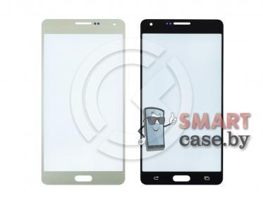 Стекло для Samsung Galaxy A7 (A700F) (золото)