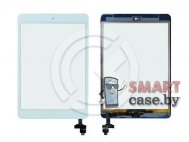 Тачскрин для iPad mini / mini 2 (с разъемом) + кнопка HOME (белый) ориг