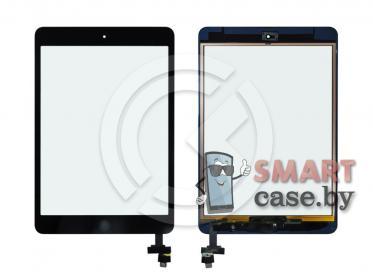 Тачскрин для iPad mini / mini 2 (с разъемом) + кнопка HOME (черный) ориг