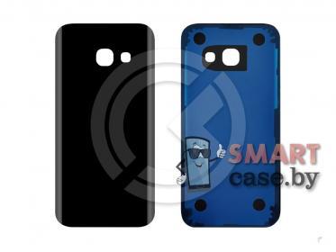 Задняя крышка для Samsung A320 Galaxy A3 (2017) (черный)