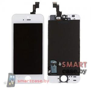 Дисплейный модуль для iPhone 5S, SE (тачсрин + дисплей + рамка) Retina Display (белый)