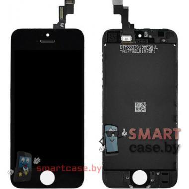 Дисплейный модуль для iPhone 5S / SE (тачсрин + дисплей + рамка) Tianma 300 cd/m2 (черный)