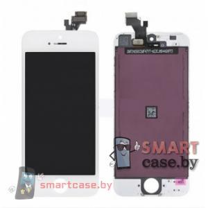 Дисплейный модуль для iPhone 5 (тачсрин + дисплей + рамка) Tianma 300 cd/m2 (белый)