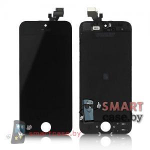 Дисплейный модуль для iPhone 5 (тачсрин + дисплей + рамка) Tianma 300 cd/m2 (черный)
