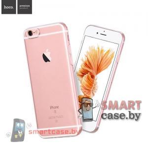 Силиконовый чехол для iPhone 6/6S HOCO (прозрачный)
