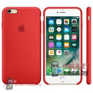 Силиконовый чехол для iPhone 5s\SE MKX32FE High Copy (красный)