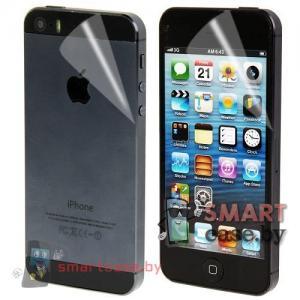 Защитная пленка для iPhone 5 на две стороны (тех-пак)