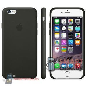 Силиконовый чехол для iPhone 5s\SE MKX32FE High Copy (черный)