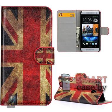 Чехол-кошелек для HTC mini Британский флаг