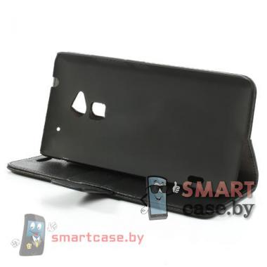 Чехол-кошелек для HTC mini черный