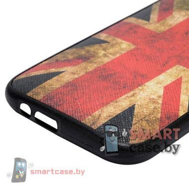 Ультратонкий чехол с кожаным покрытием для HTC One