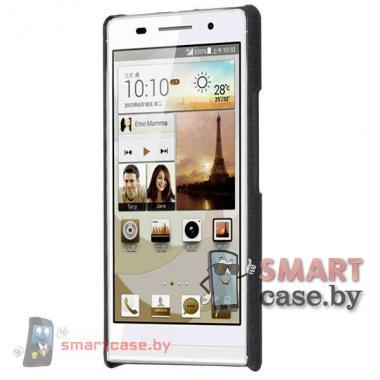 Чехол - накладка матовый для Huawei Ascend P6 (Черный)