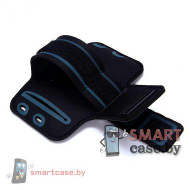 Универсальный чехол на руку для занятия спортом до 4.7 дюймов (черный)