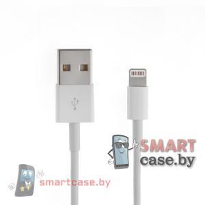 Кабель USB для зарядки Apple Lightning (100 см белый)