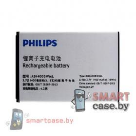 Аккумулятор AB1400BWML для Philips S308  (Philips S301) 1400mAh