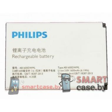 Аккумулятор AB1600DWML для PHILIPS Xenium S309 1600mAh