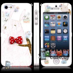 Накладка для iPhone 5, iPhone 5s Happymori (бантик)