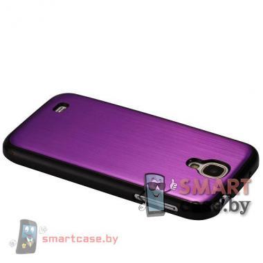 Металлический чехол для Samsung Galaxy S4 (фиолетовый)
