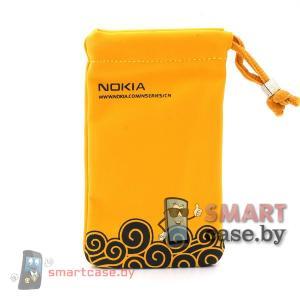 Универсальная сумочка для телефона Nokia 7*11 см (желтая)
