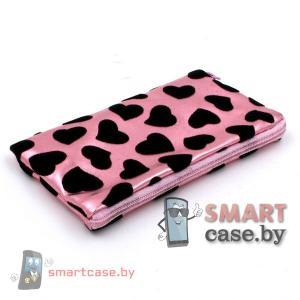 Универсальная сумочка для телефона с ремешком 7*13 см (Розовая)