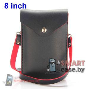 Универсальная сумочка для телефонов на ремешке (черная)
