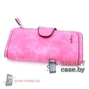 Кошелек, портмоне, клатч Baellerry (Ярко-розовый)