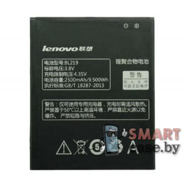 Аккумулятор BL219 для Lenovo A300T, A388T, A916 2500 mAh