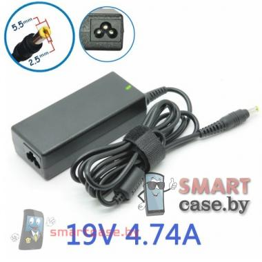 Блок питания (зарядное) для ноутбука Lenovo 19V, 4,74A (штекер 5,5x2,5)