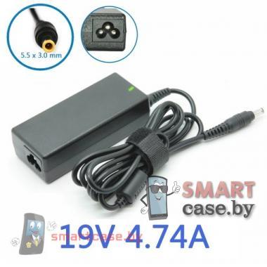 Блок питания (зарядное) для ноутбука Samsung 19V, 4,74A (штекер 5,5x3,0)