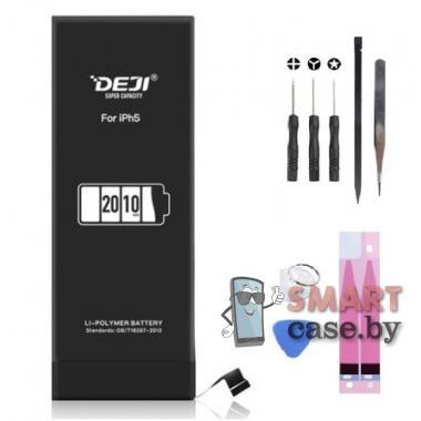 Аккумуляторная батарея для iPhone 5 2000 мАч Deji увеличенная емкость