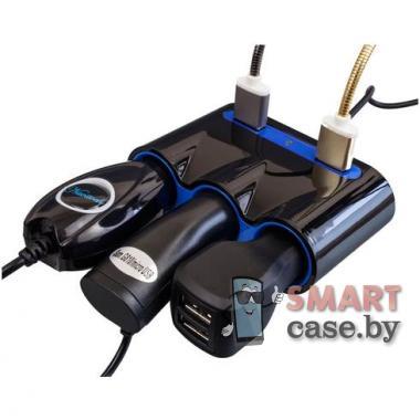 Автомобильный разветвитель DC010 2 USB + 3 12V/24V