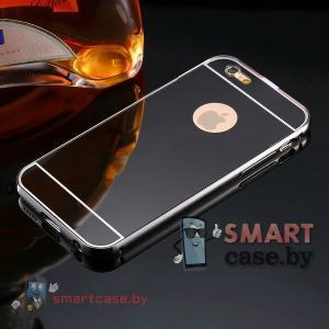 Чехол для iPhone 5 алюминиевый+зеркальная накладка (Chanel)