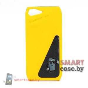 Чехол-накладка для iPhone 5 от Casemachine (желтый)