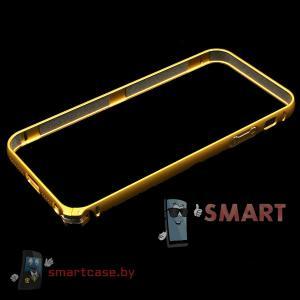 Бампер для iPhone 5 алюминиевый  (золото)