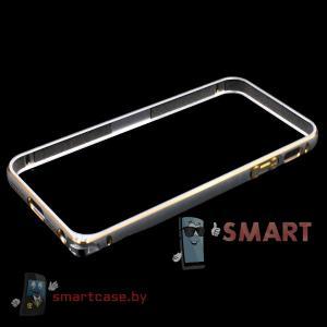 Бампер для iPhone 5 алюминиевый  (серебро)