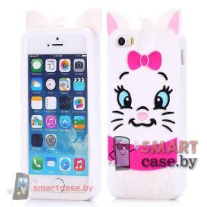 Силиконовый чехол для  iPhone 5 5s (Милый котик)