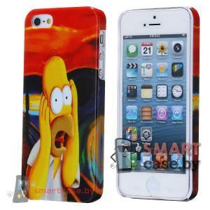 Накладка для iPhone 5, iPhone 5s (Гомер?)
