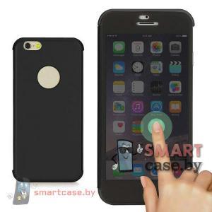 Чехол с карбоновой крышкой для iPhone 6 Rock Dr V series (черный)