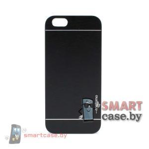 Алюминиевый чехол для iPhone 6 от motomo (Черный)