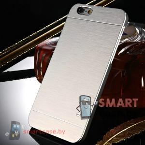 Алюминиевый чехол для iPhone 6 от motomo (Серебро)