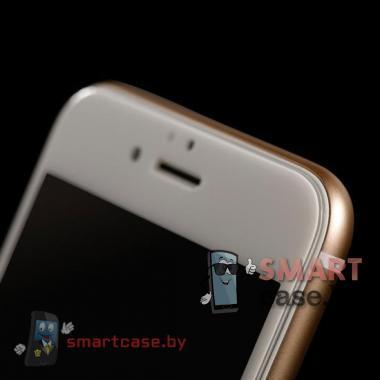 Защитное стекло для iPhone 6/6S 0.33 мм, 5D (белое)