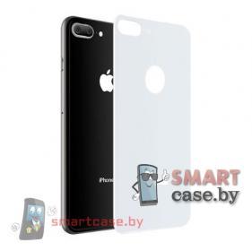 Защитное стекло для iPhone 7/8 Plus на заднюю крышку (Белое)