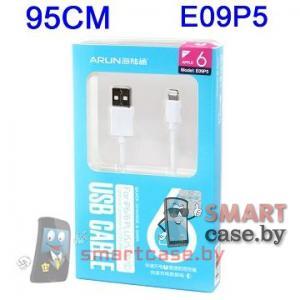 Кабель USB зарядки для iPhone 5/5c/5s 6/6 plus 95 см Arun