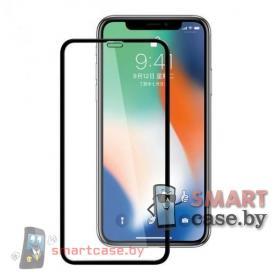 Защитное стекло для Apple iPhone XS Max 2,5D (Черное)