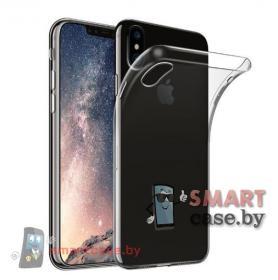 Силиконовый чехол для iPhone X (прозрачный)