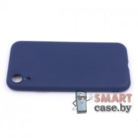 Силиконовый чехол для iPhone XR (Синий)